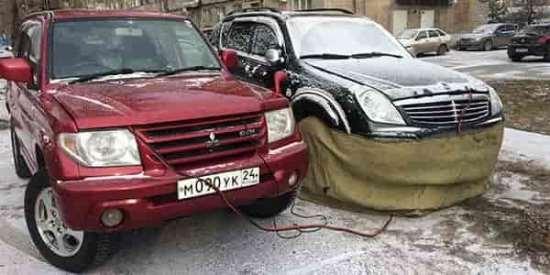 Круглосуточная служба по отогреву автомобиля в Красноярске