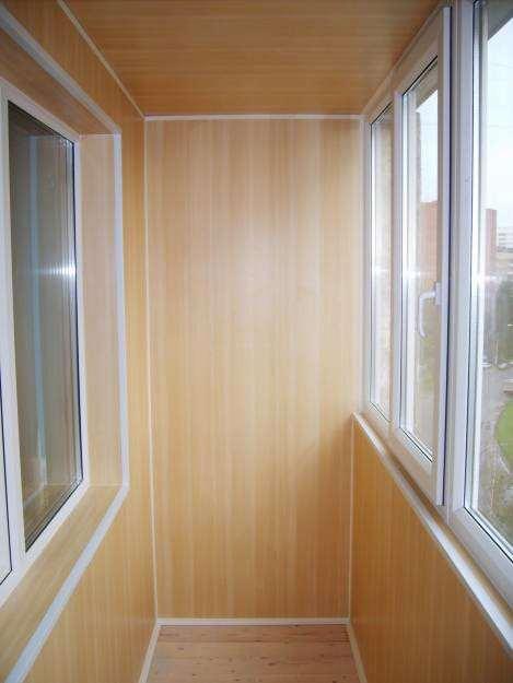 Разбор технологии внутренней отделки балконов и лоджий