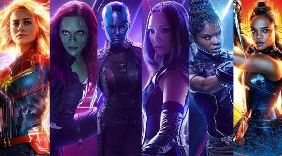 Количество женских ролей в фильмах существенно возросло
