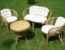 Наиболее востребованные виды садовой мебели
