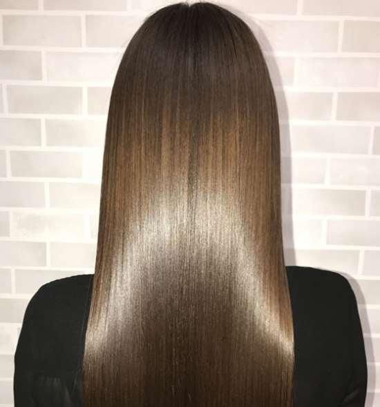 Нанопластика волос с помощью эффективных средств Sweet Lovely