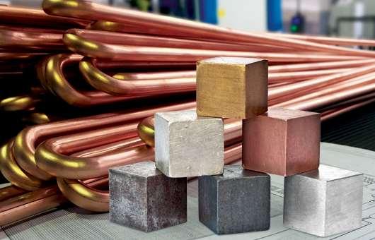 Цены на металлы с отображением динамики
