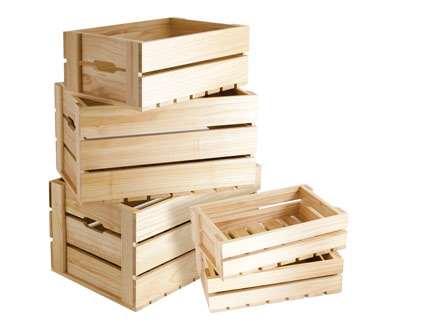 Деревянная тара – лучшая и экологичная упаковка
