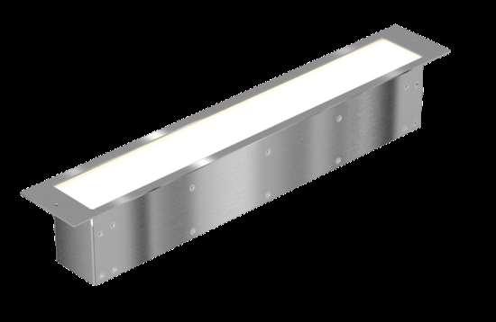 Встраиваемые светодиодные архитектурные светильники - идеальное освещение для малой площади