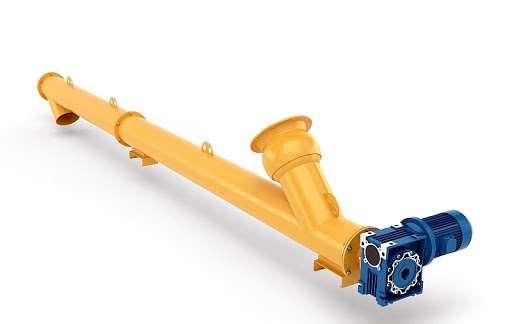 Разные виды шнековых транспортеров для цемента