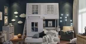 Надежные и продуманные кровати-домики для детей
