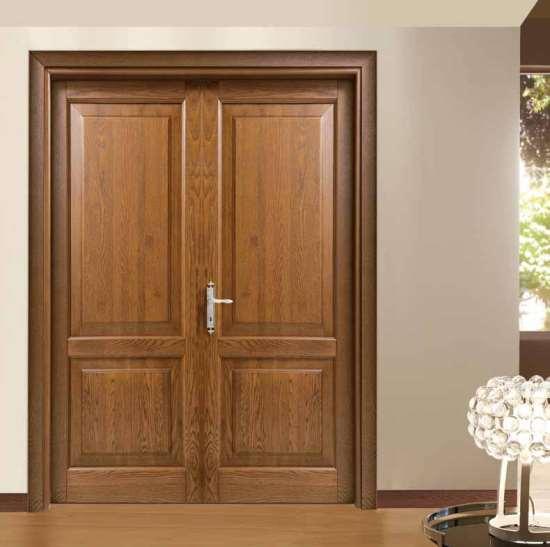 Двери из массива дерева — прочность и эстетика