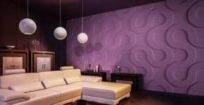 Преимущества стеновых панелей 3D