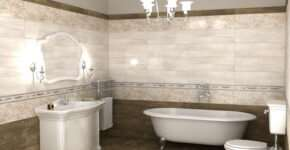 Что выбрать для ванной комнаты: керамогранит или плитку