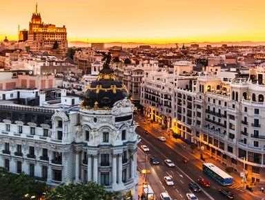 Познавательная и полезная экскурсия в Мадрид
