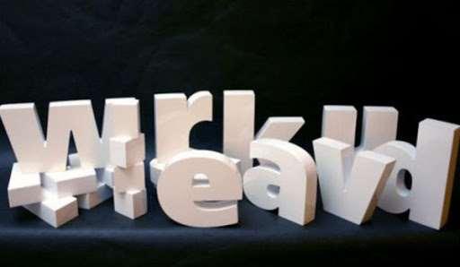 Создание объемных букв и логотипов из пенопласта