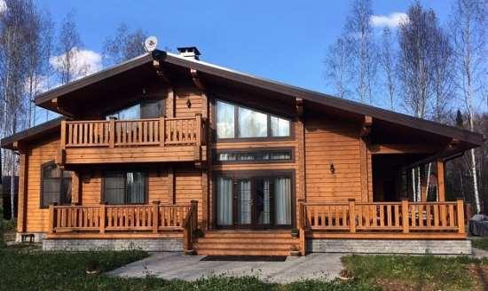 Надежность и терморегуляция домов из клееного бруса