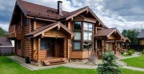 Скорость постройки домов из оцилиндрованного и рубленого бревна
