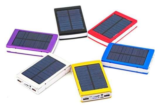 Повер банки с солнечными батареями — будущее рядом