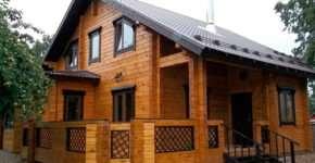 Все этапы строительства домов из бруса профилированного