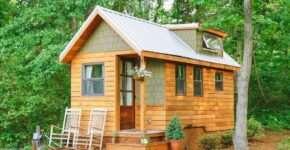 Из каких материалов можно построить бюджетный дачный домик