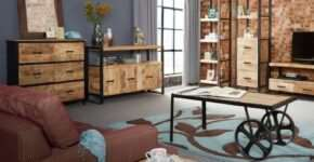 Мебель в стиле лофт – добавление интерьеру простора и невесомости