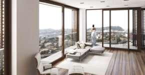 Качественные панорамные окна из дерева от «Vinchelli»
