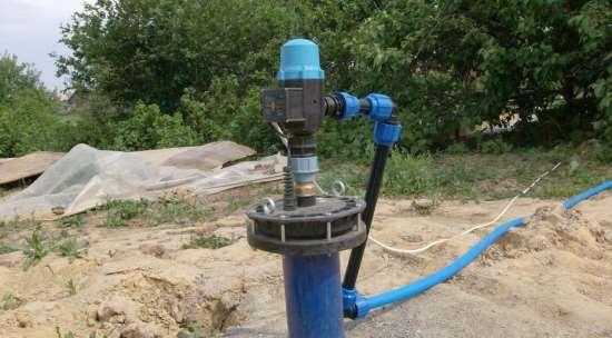 Типы скважин под воду на загородных участках