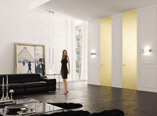 Итальянская мебель и двери в едином стиле