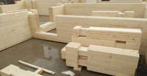 Клееный брус домокомплект — готовый конструктор