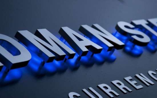 Объемные буквы для рекламы — выделение на общем фоне