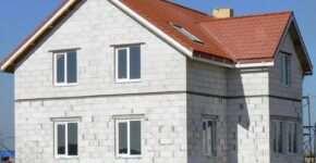 Как выполняется строительство домов из газобетона?