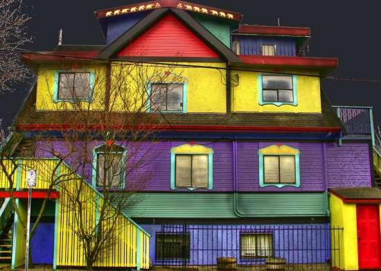 Виды красок для фасадных работ
