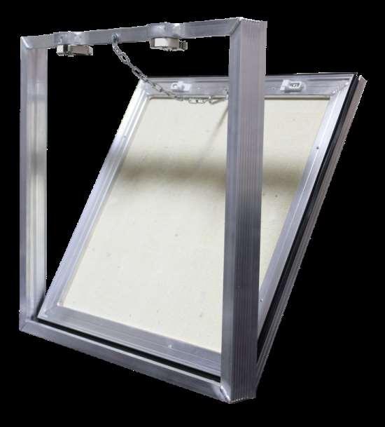 Алюминиевый люк под плитку для скрытия коммуникаций