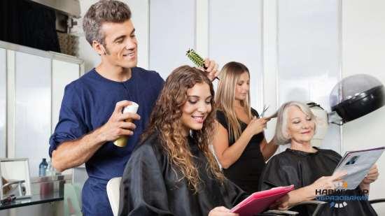 Различные профильные аксессуары для парикмахеров