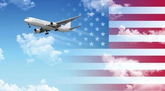 Авиаперевозки грузов из любого города США
