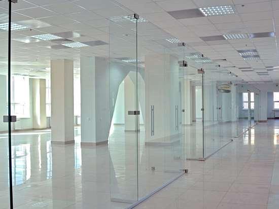 Перегородки для офисов из стекла