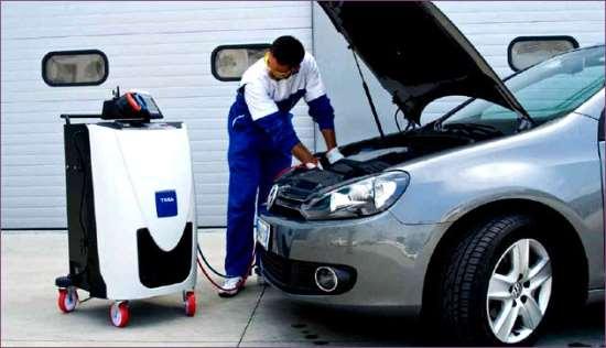 Услуги ремонта и диагностики автокондиционеров