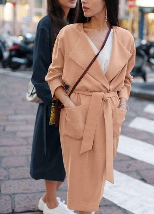 Критерии для выбора весеннего женского пальто