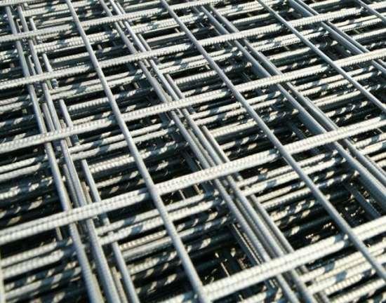 Использование стальной арматурной сетки