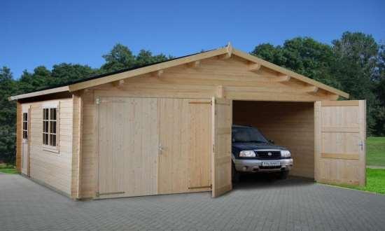 Каркасный гараж – простая и быстрая в возведении конструкция