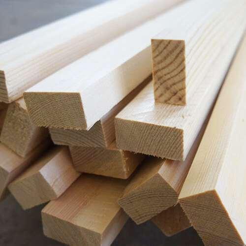 Где применяют рейку деревянную строганную?