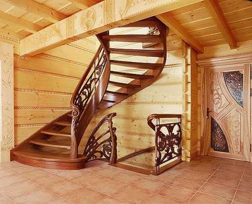Установка лестниц на второй этаж в доме