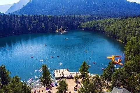 Теплые озера в Бурятии — удивительная красота