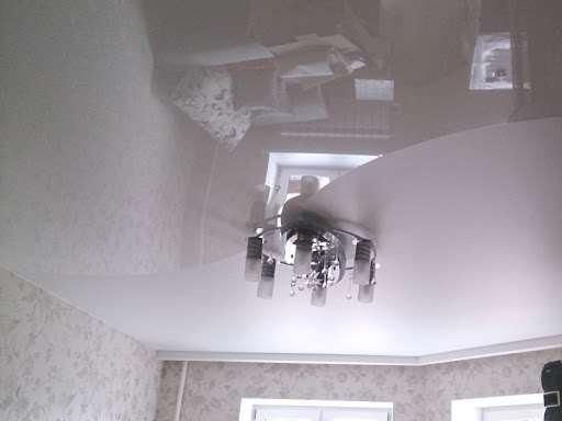Натяжные потолки — красота и практичность
