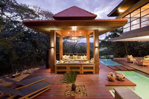 Деревянные беседки — уютные конструкции