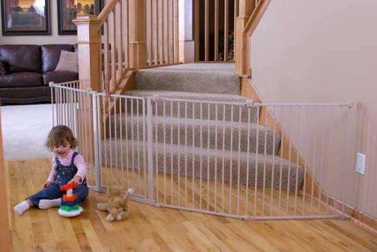 Ворота безопасности для защиты детей