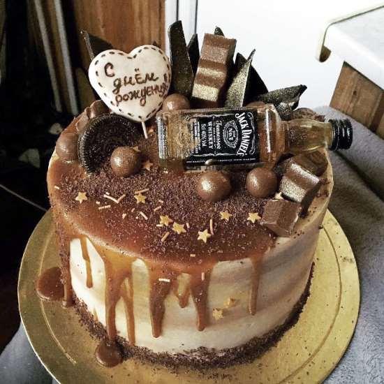 Заказ создания торта для мужчин