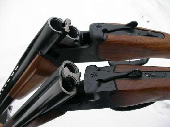 Различные виды гладкоствольного оружия