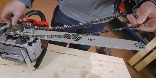 Принципы выполнения ремонта цепной электропилы