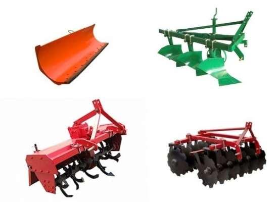 Основные виды навесного оборудования для минитракторов