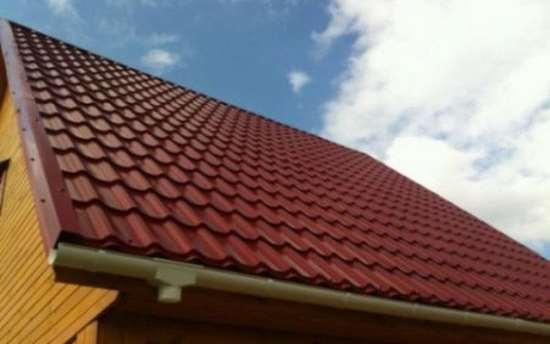 Этапы укладки металлочерепицы на двухскатную крышу