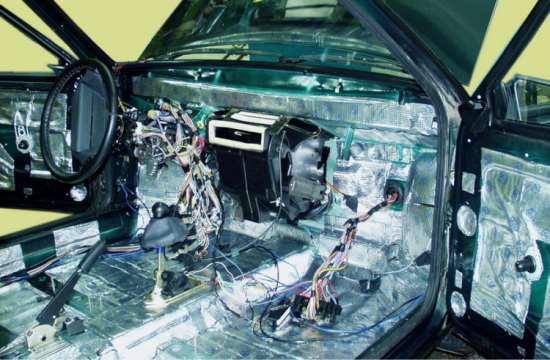 Разновидности реализации шумоизоляции авто