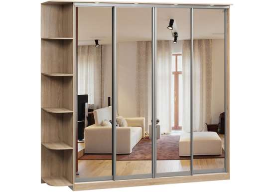 Выбор лучшего шкафа-купе в магазине «Недорогая мебель»