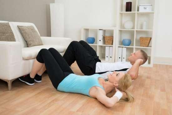 Эффект упражнений для похудения в домашних условиях